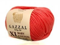 GAZZAL COTTON BABY XL KORAL 3435