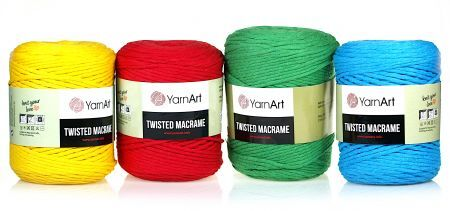 Twisted Macrame YarnArt